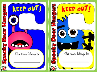 Monster - Door Hangers