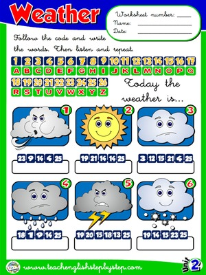 The Weather - Worksheet 5