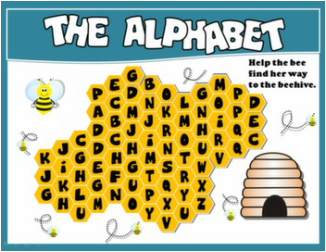 ALPHABET PPT GAME + PRESENTATION#