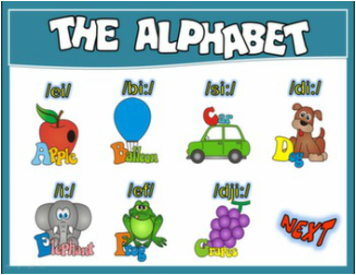 ALPHABET PPT GAME + PRESENTATION