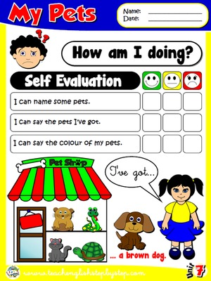 My Pets - Self Evaluation