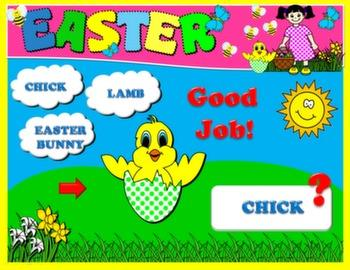 EASTER PPT GAME + PRESENTATION