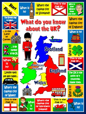 The United Kingdom - Board Game