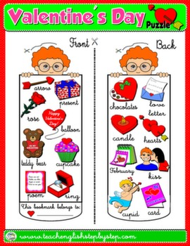 VALENTINE'S DAY BOOKMARK FOR BOYS#