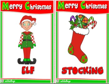 christmas flashcards #
