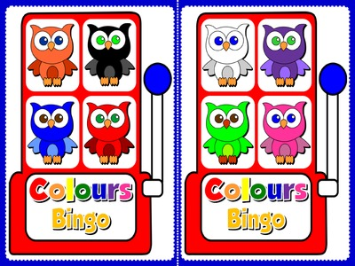 Colours - Bingo (Set of 20 Cards)