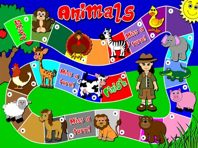 Animals - Board Game