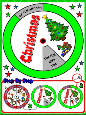 CHRISTMAS VOCABULARY WHEEL