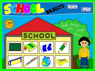 CLASSROOM OBJECTS - PPT GAME + PRESENTATION#