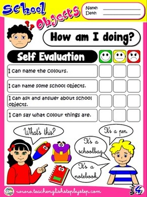 School Objects - Self Evaluation