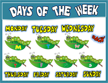 DAYS OF THE WEEK PPT GAME + PRESENTATION