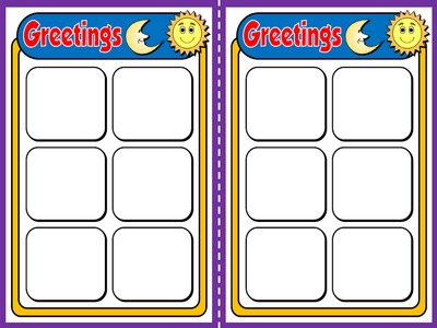 Greetings and names - Board Game (Vocabulary Cards)
