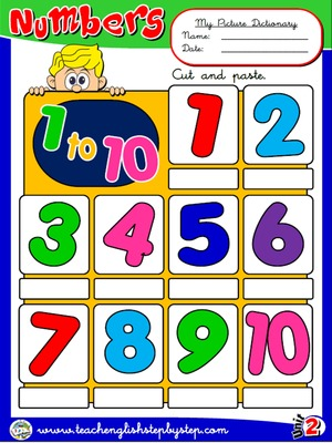 Numbers (1 to 10) - Picture Dictionary