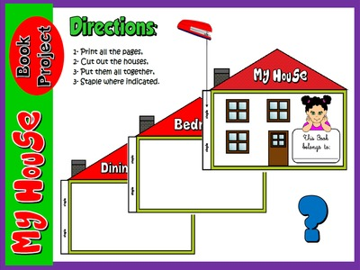 My House - Book Project Directions