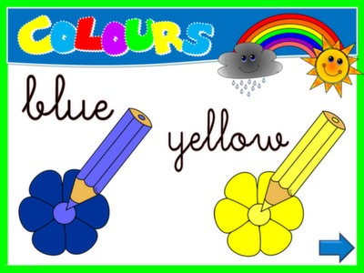 #COLOURS - PPT PRESENTATION - LEARNING SPOT