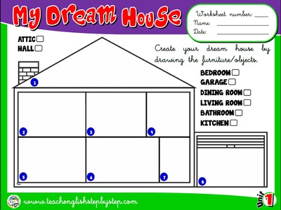 My House - Worksheet 8