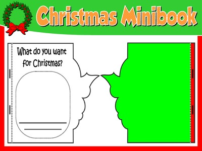 CHRISTMAS  VOCABULARY MINI BOOK