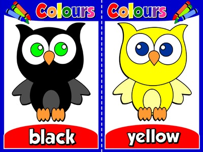 Colours - Set of 11 Flashcards