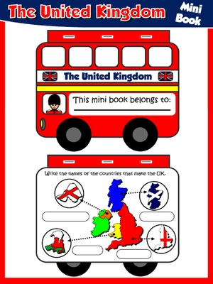 The United Kingdom - Mini Book