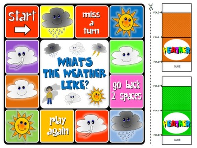 English step by step 1st graders teach english step by step the weather board game m4hsunfo