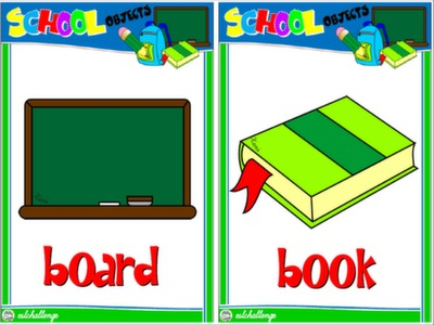 CLASSROOM OBJECTS - FLASHCARDS#