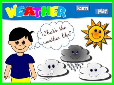 #THE WEATHER - PPT PRESENTATION + GAME