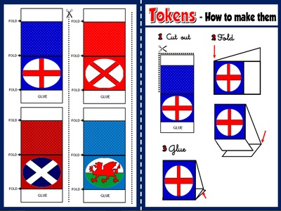 The United Kingdom - Board Game (tokens)