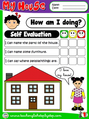 MY HOUSE - - Self Evaluation