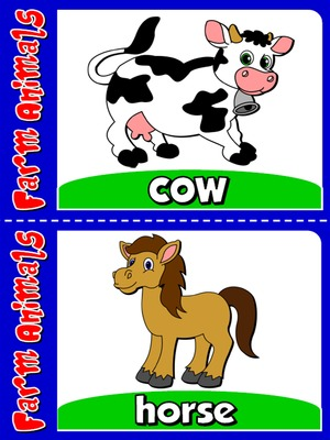 Farm Animals - Flashcards