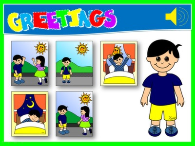 #GREETINGS - PPT GAME - PLAYING SPOT