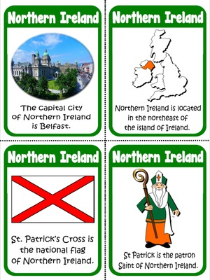 Northern Ireland - Flashcards