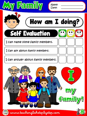 My Family - Self Evaluation