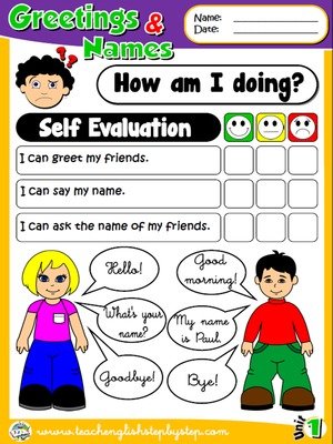 Greetings and Names - Self Evaluation
