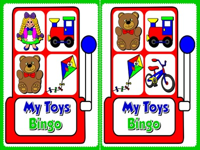 My Toys - Bingo (Set of 20 Cards)