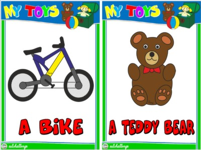 #TOYS - FLASHCARDS