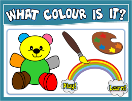 COLOURS PPT GAME + PRESENTATION