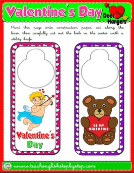 VALENTINE'S DAY DOOR HANGER 2#