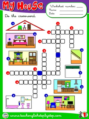 My house - Worksheet 3