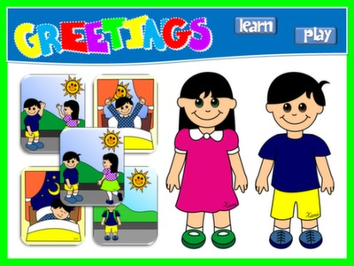 #GREETINGS - PPT PRESENTATION + GAME