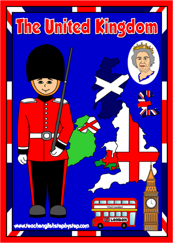 The United Kingdom - ESL teaching resources