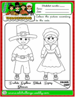 THANKSGIVING COLOURING