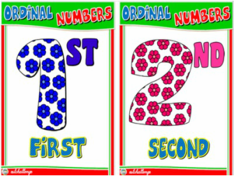 ORDINAL NUMBERS FLASHCARDS#