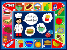 FOOD AND DRINKS BOARD GAME #