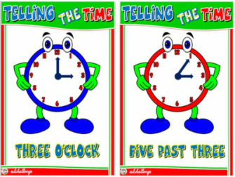 TELLING THE TIME FLASHCARDS #