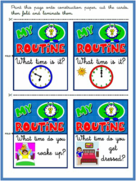 DAILY ROUTINE DAILY ROUTINE BOARD GAME#
