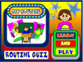 DAILY ROUTINE PPT GAME#