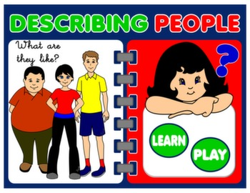 DESCRIBING PEOPLE  - PPT PRESENTATION + GAME