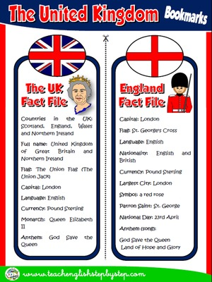 The United Kingdom - Bookmarks