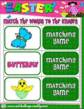 #EASTER MATCHING GAME