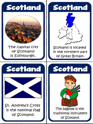 Scotland - Flashcards